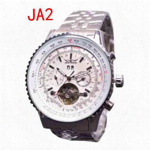 Fashion Men Automatic Mechanical Watch Stainless Top Quality Date Day Dive Mens Wristwatches Jaragar
