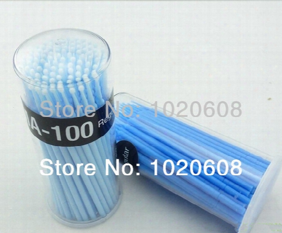 Free Shipping 800pcs Dental Disposable Mascaran Wands Microb Rush For Eyelash Extension Application And Removal