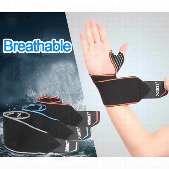High End Weight Lifting Fitness Bandage Hand Wrist Straps Sport Wristbands Support Wrist Protector Carpal Tunnel Brace Gym Wraps