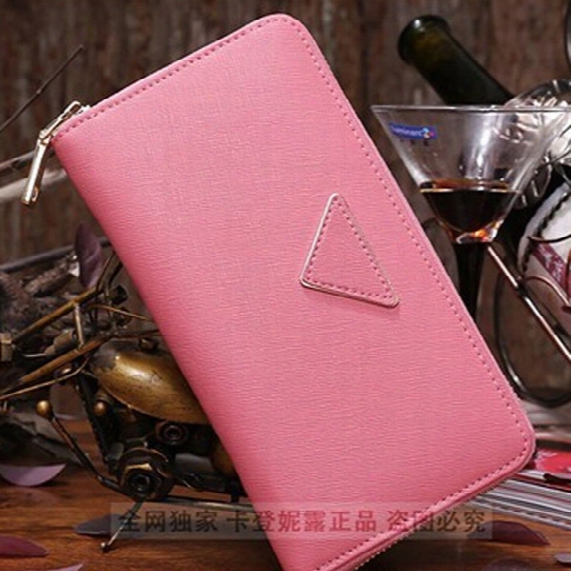 New 2016 Luxury Brand Women Wallets,fashion Portefeuille Femme Long Carteras Mujer Famous L Brand Carteira Leather Purse L2