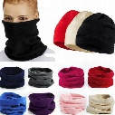 Popular Hot Polar Fleece Snood Hat Neck Warmer Ski Wear Scarf Beanie Balaclava