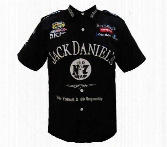 Wholesale-2015 New Hot Pit Crew Shirt F1 Moto Nascar Black