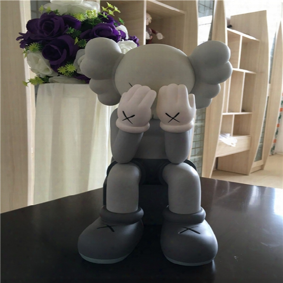 161129 Septermber The New Products Kaws Original Color Doll Limited Hand Do Model Doll Toy Trend Around Originalfake Hot Sales 28cm