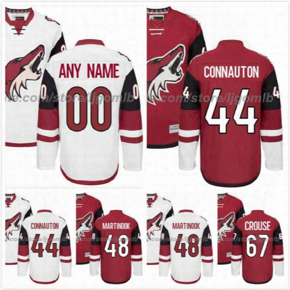 Antti Raanta Jersey 32 Lawson Crouse 67 Kevin Connauton 44 Jamie Mcginn 88 Martinook 48 Mens Hockey Jerseys Arizona Coyotes Stitched M-3xl