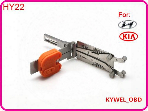 Auto Smart Hy22 2 In 1 Auto Pick And Decoder For Kia , Locksmith Tool Free Shipping
