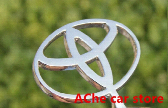 Free Shipping High Quality Luxury Toyota 3d Zinc Alloy Movable Hood Front Badge Ornament Emblem Auto Accessories
