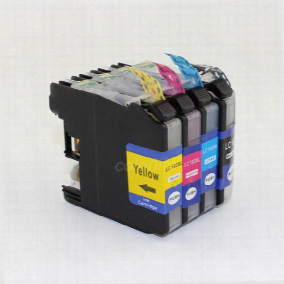 Hot In North America,compatible Ink Cartridge Lc103 With Chip For Brother Dcp-j152w Mfc-j245 Mfc-j285dw Mfc-j450dw Mfc-j470dw Mfc-j475dw