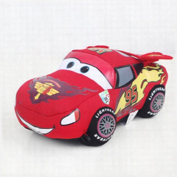 Kid Toys Plush Cars 16-18cm Lightning Mcqueen Plush Toys Very Cute Cars Plush Toys Best Gift For Kids B944