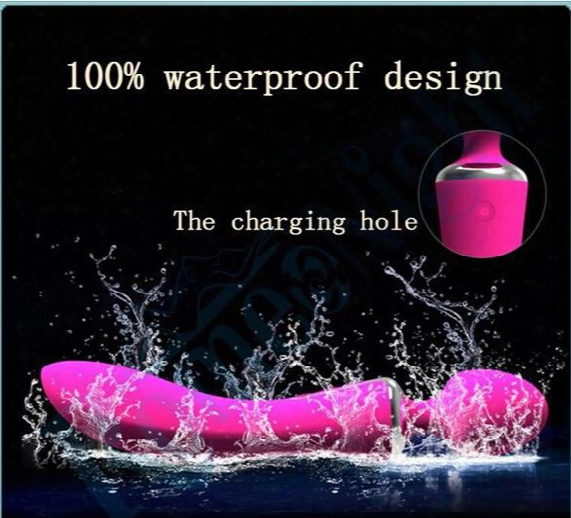 Leten Dual Penetrations 100% Waterproof Silicone G-spot Dual Motors Design Powerful Vibration Multi-spee D Vibrator Best Sexual Enjoyment