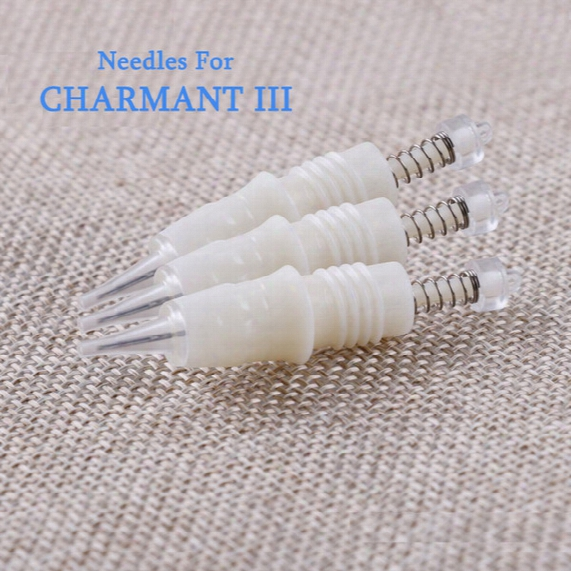 Needles For Charmant 3 Permanent Makeup Needles Needle Mouth Eyebrow Tattoo Bleaching Lip Eyeliner Tattoo Beauty Skin Care