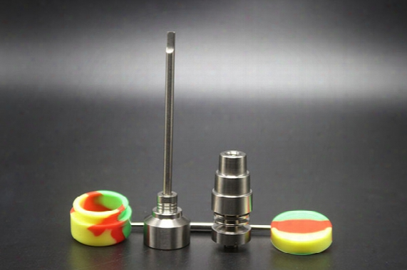 New Popular Products ! Bong Tool Set Carb Cap Domeless Dab Rig Gr2 Titanium Nail Dabber For Ash Catcher Oil Rigs Glass Bong
