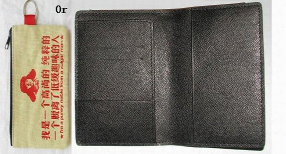 Passport Cover Da.graphite N60031 Or Cotton Wallet