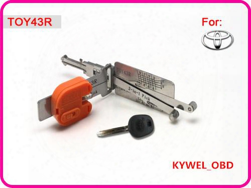 Smart Toy43r 2 In 1 Auto Pick And Decoder For Toyota, Locksmith Tool Free Shipping
