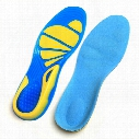 Silicon Gel Running Sport Insoles Shock Absorption Pads arch orthopedic insole Foot Care for Plantar Fasciitis Heel Spur