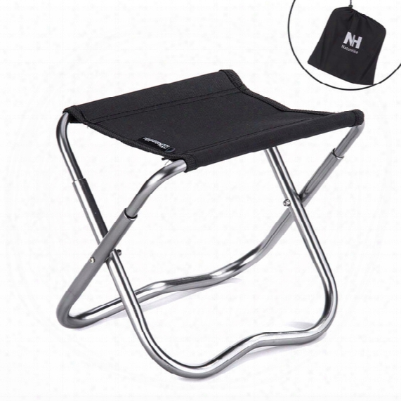Wholesale-mini Folding Beach Chair Lightweight Easy To Carry Outdoor Fishing Stool Camping Gargden Portable Train Chair With A Bag
