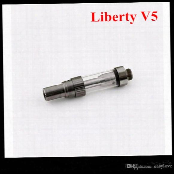 2017 Itsuwa Amigo Liberty V5 Tank Ceramic Coil No Leakage Adjust Airflow Cartridge Vs V3 V6 V7 V8 V9 Free Dhl