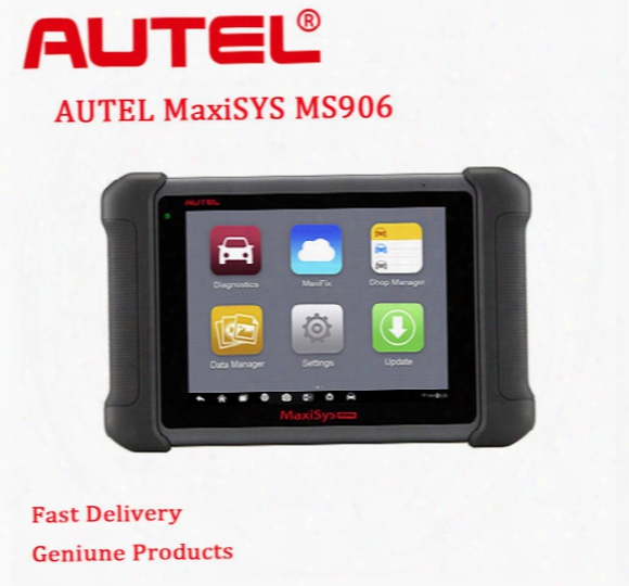 2017 New Profession Diagnostic Tool Autel Maxisys Ms906 Android 4.0 Bt/wif Automotive Diagnostic Scanner Update Online
