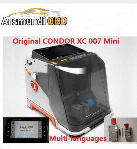 2017 Original New Condor Mini Xc007 Key Cutting Machine High Quality Mini Xc 007 Auto Diagnostic Tool Hot Selling Xc-007