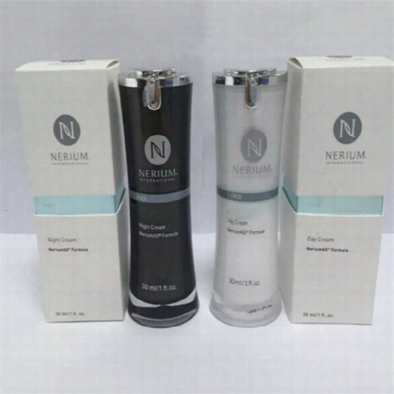 2017 Wholesale New Hot Nerium Ad Night Cream And Day Cream New In Box-sealed 30ml Skin Care Dhl Free Shipping