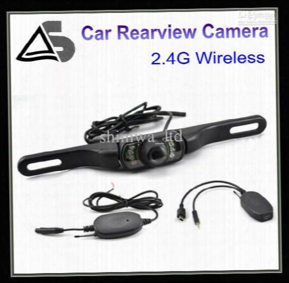 2.4 G Wireless Car Rear View Camera Backup Camear Reverse Camera 170 Angle Lens
