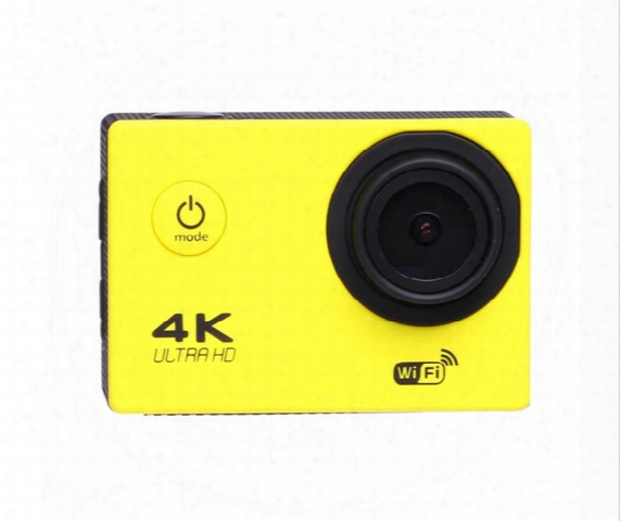 "4k Sports Camera Hd Action 2"" Wifi Diving 30 Meter Waterproof Cameras 1080p Full Hd Camera Sport Dv Car 7 Colors"