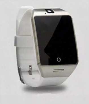 5 Colors Q18 Smart Watch Bluetooth Watch Phone With 0.3m Camera Mtk6261d For Android Ios Micro Sim Tf Card Men Women Sports