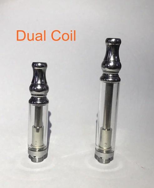 92a3 Pyrex Glass Bud Ce3 E-cigarette Waxy Oil Vaporizer Wax Atomizer 510 Cartridge Dual Coil Vapor Tank For O Pen Touch Battery