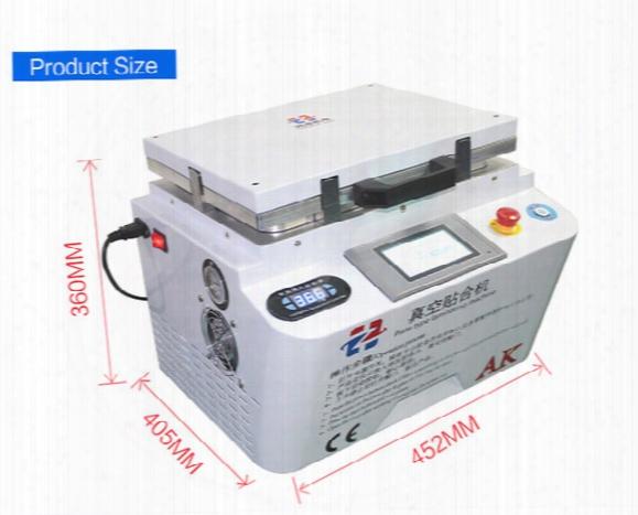 All In One 12 Inch Ak Plate Type Laminating Automatic Lock Vacuum Lcd Oca Laminator Machine Bubble Remover Machine For Screen Refurbish
