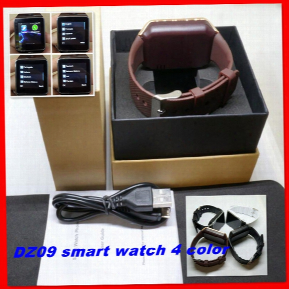 Dz09 Bluetooth Smartwatch Phone For Android Lg Htc Sim Card Wrist Watch Pk U8 Gt08 A1 Gv18 Smartwatch Smart Watches