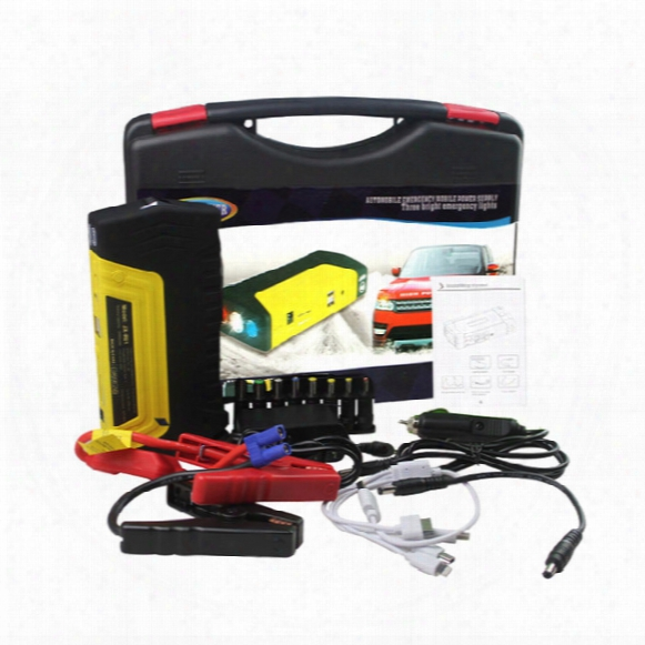 High Quality 12v 50800mau Portable Mini Jump Starter Car Jumper Booster Power Battery Charger Mobile Phone Laptop Power Bank
