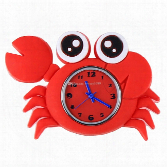 Hot Models Ocean Animal Series Slap Watch Cute Animal Cartoon Slap Snap Watch Silicone Wrist Watches For Children Gift 200pcs/lot