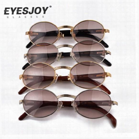 Metalf Rame Carved Designs Wooden Sunglasses Brands Glasses Hot Selling Full Rim Retro Glasses Sunglasses For Women Men Ct53-22