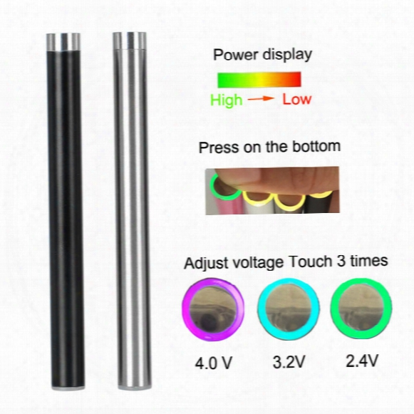 New Design Slim 280mah Pre-heat Battery Mix2 Battery Thick Oil Vaping Disposable Cartridge 510 Thread Battery For Bud Ce3 G2 92a3 Gla3 Tank