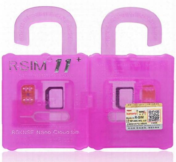 R Sim 11+ Rsim11 Plus R Sim11+ Rsim 11 Unlock Card On Account Of Iphone 5 5s 6 6plus Iphone7 Ios 7 8 9 10 Ios7-10.x Gsm Sb Sprint Lte 4g 3g 2g