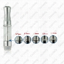 High quality refillable ceramic coil atomizer 510 glass oil cartridge vaporizer cartridge empty for thick oil atomizer