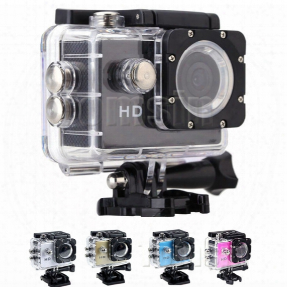 Waterproo A7 Sport Cam Hd 1080p Helmet Sports Dv Video Car Cam Dv Action Waterproof Underwater 30m Camera Camcorder For Diving Surfing