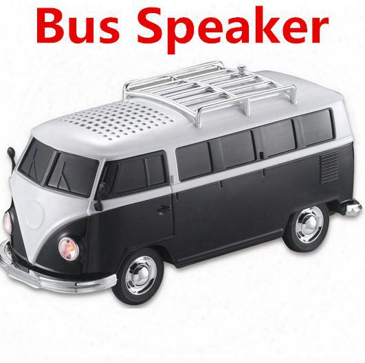 Ws-266 Mini Portable Bus Toy Stereo Speaker Support Tf Card Usb Mp3 Player With External Battery Subwoofer Speakers