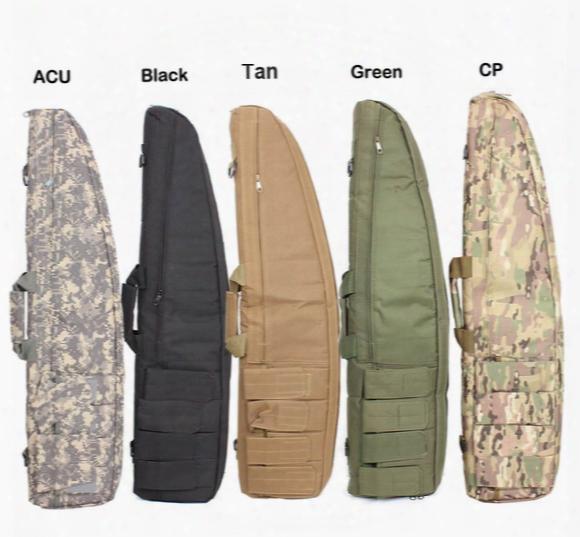 120cm Hunting Paintball Bag Outdoor 600d Nylon Waterproof Tactical Carrying Gun Bags Combat Gun Shoulder Case For Airsoft