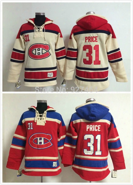 2015 Cheap Stitched Montreal Canadiens Ice Hockey Hoodie #31 Carey Price Jersey Hockey Hoodies Sweatshirts With Size:m-xxl