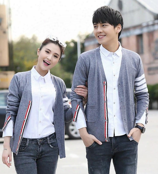 2016 Spring And Autumn New Models Cardigan Sweater Tb Co Sweater Coat Ms