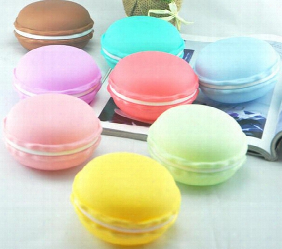 2017 Flower Series Macaron Dragon Mini Small Cake Boxes Jewelry Box Mini Cosmetic Jewelry Storage Box Pill Case Birthday Gift Small Size