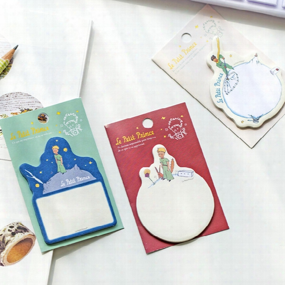 36 Pcs/lot The Little Prince Memo Sticker Paper Sticky Note Fair Tale Card Self-adhesive Bookmark Office School Supplies