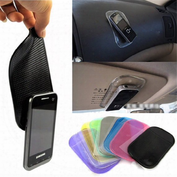 Car Windshield Anti-slip Sticky Pad Holder Mount For Iphone 5 5s 6s 6 Plus 7 7 Plus Smart Phone For Samsung For Android Phone Free Shipping