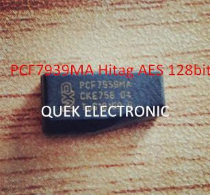Pcf7939ma Pcf7939 Hitag Aes 128bit New Transponder Phillips Crypto Blank Chip Free Shipping China Post Air Mail