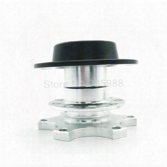 Silver Universal Steering Wheel Quick Release Hub 100% Brand New Adapter Snap Off Boss Kid