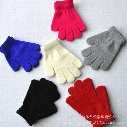 6 Color kids gloves knitting warm glove children boys Girls Mittens Unisex cartoon Solid color Separate finger Gloves B