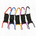 Alloy Water Bottle Carabiner Clip Bottle Holder Buckle Drinkware Handle Camping Snap Hook Clip-on for Outdoor Sports