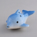 Hot Mini Cute Dolphin Shape 6 Hole Ocarina Ceramic Dark Blue 2016 Spring Style In Stock