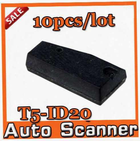 10pcs/lot Blank T5-id20 Chip Carbon T5 (id20) Chip Locksmith Tools T5 Transponder Chip T5 Id20 Ceramic A+++ Quality