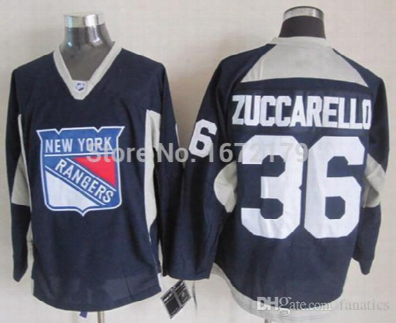 2017 Cheap New Mens New York Rangers Mats Zuccarello Navy Blue Practice Alternate Stitched Ny Rangers Hockey Jersey